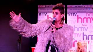 PEACHES Live At HMV Super Store The Underground Interview And Q A