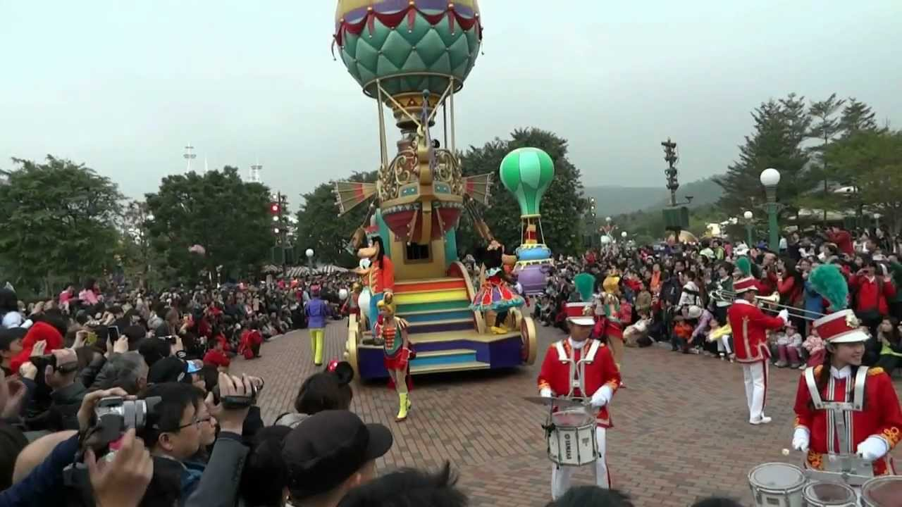 香港迪士尼飛天巡遊HD version 2...