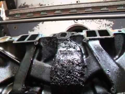 Intake Manifold Cleaning 05