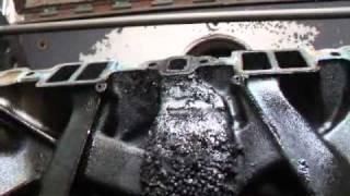 Intake Manifold Cleaning 05
