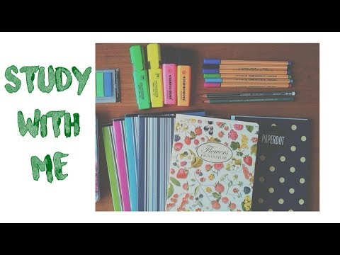 🔴 STUDY WITH ME  -  LIVESTREAM  💯📚 (at least 3 hours)