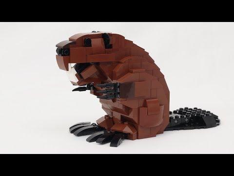 LEGO Mechanical Beaver