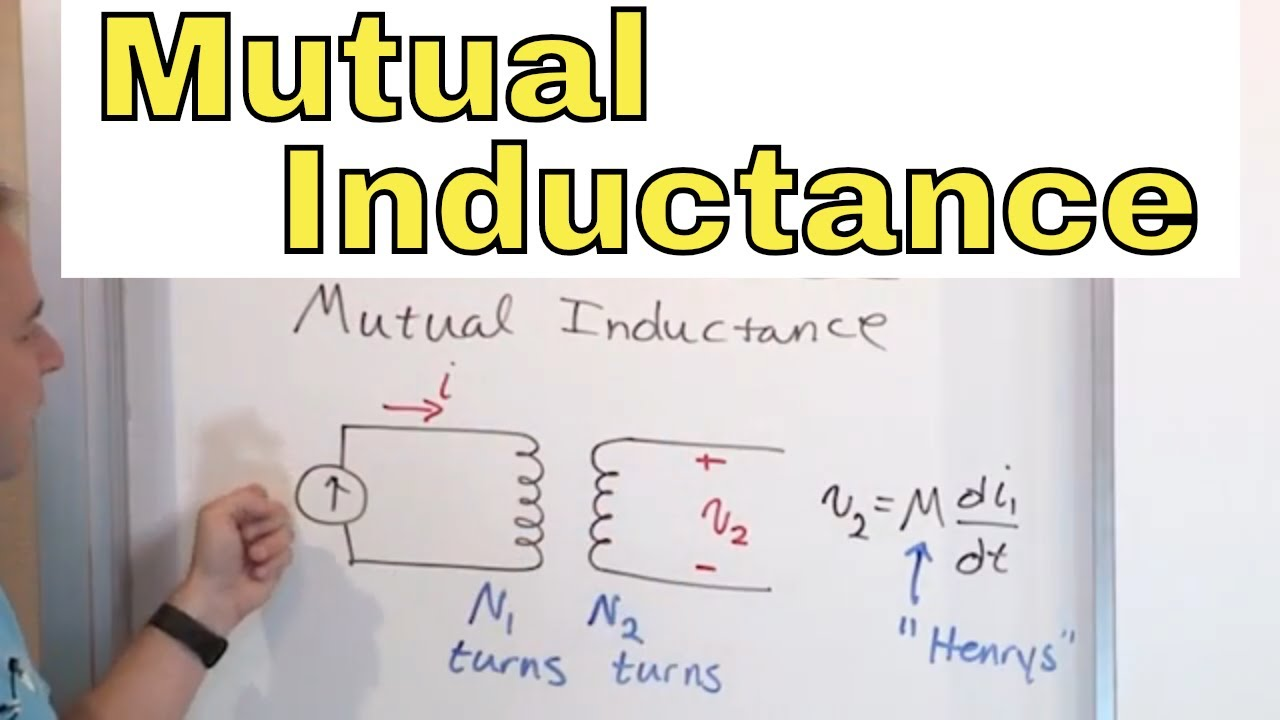 01 - What is Mutual Inductance & Self Inductance in Circuit Analysis?
