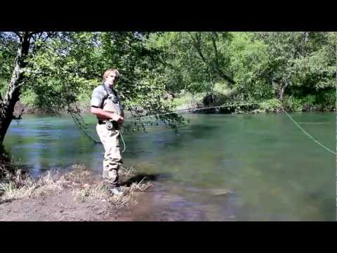 Fly Fishing Instruction - How to Dry Fly Fish for Trout