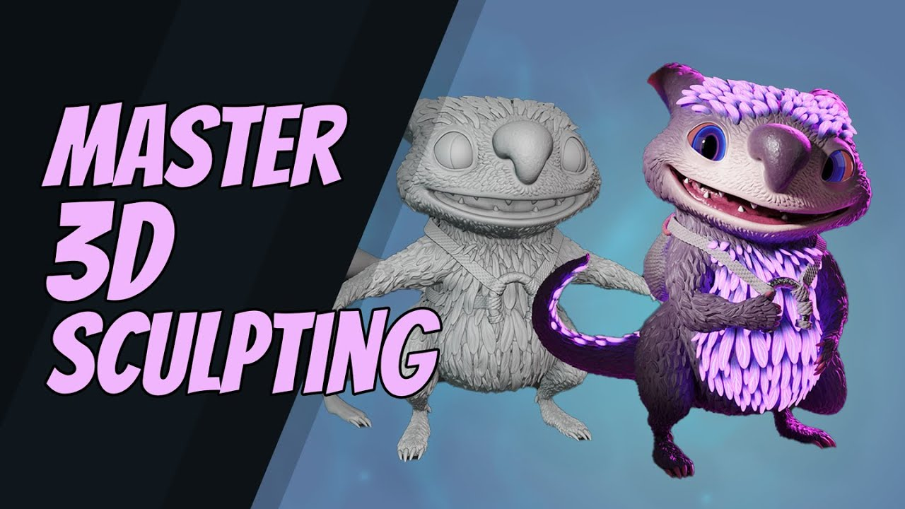 CG Boosts Master 3D Sculpting in Blender