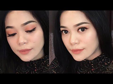 Peachy Glow Makeup Tutorial (Fresh Makeup Buat Bukber / Bulan Puasa) | Nitha Fitria