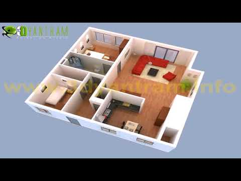 Small House Floor Plans With Interior Designs For Affordable Home ...