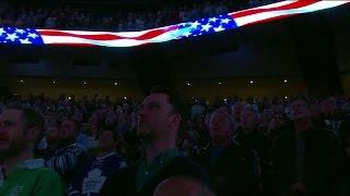 Maple Leafs fans lend their voices