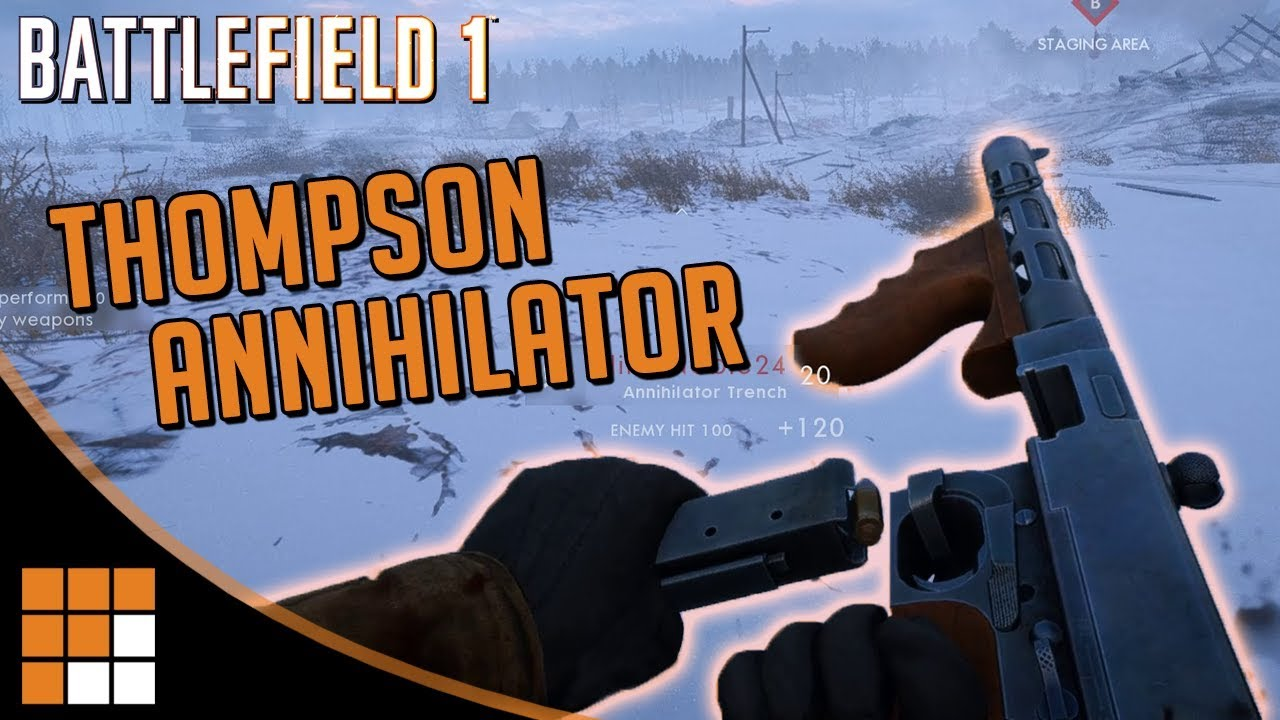 Quick Look: Thompson Annihilator SMG Hits the Battlefield 1 CTE