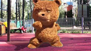 Kids and Bear Johnny Johnny Baby Songs