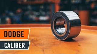 Comment changer Kit de roulement de roue DODGE CALIBER - video gratuit en ligne