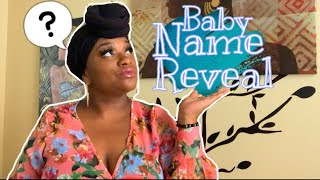 EPIC UNIQUE BABY NAME REVEAL| BABY NUMBER 9