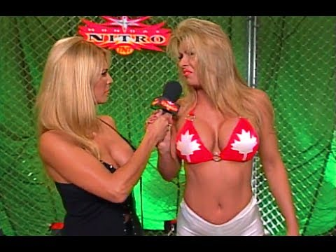 (720pHD): WCW Nitro 11/20/00 - Pamela Paulshock Interviews Major Gunns & Team Canada