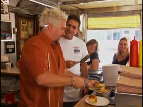 Diners, Drive-ins, and Dives-In Hackensack , NJ@ White Manna Hamburgers.