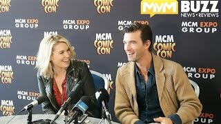 Emily Rose & Lucas Bryant on the Haven finale, Naudrey, William Shatner at MCM London Comic Con