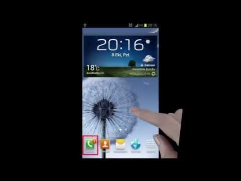 Galaxy S3 Takılı Kalan Bildirim Sorununun Çözümü