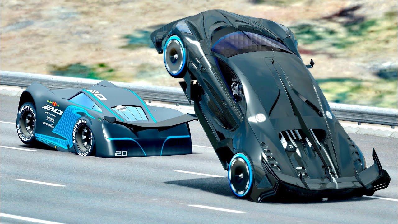 Jackson Storm vs Bugatti Black Devil VGT - Drag Race 20 KM - YouTube