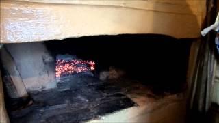 Русская печка топим и готовим