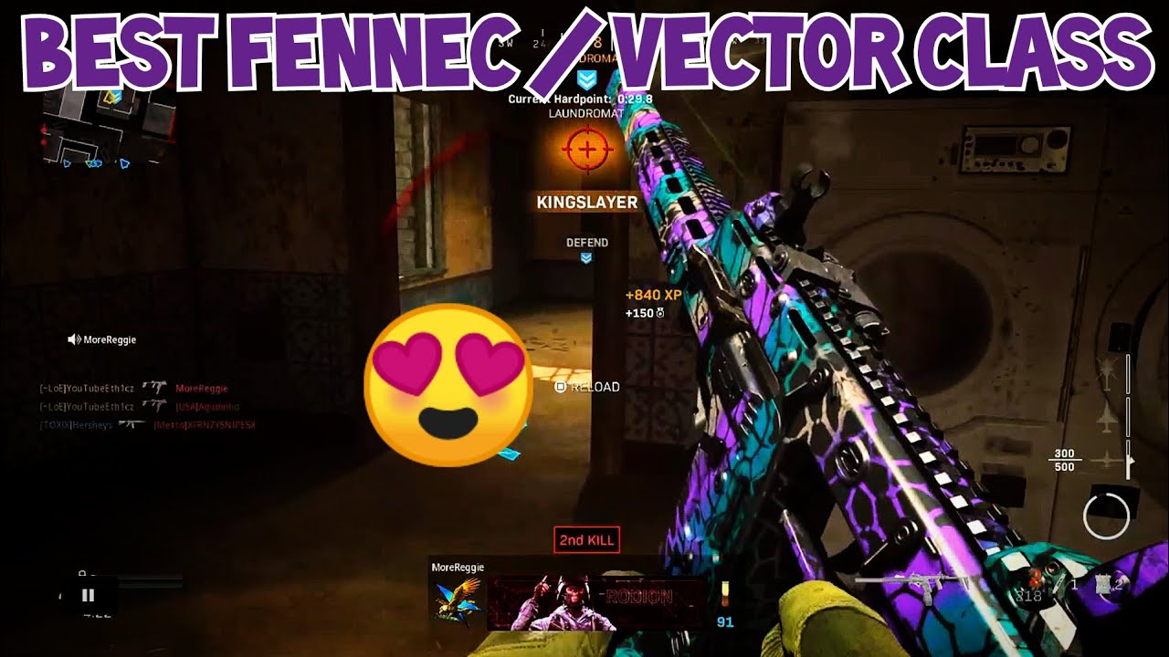 "FENNEC / VECTOR is OP! (BEST FENNEC CLASS SETUP) ""BEST VECTOR CLASS SETUP"" MODERN WARFARE"