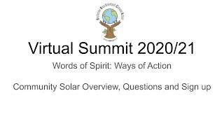 WOA: December- Community Solar