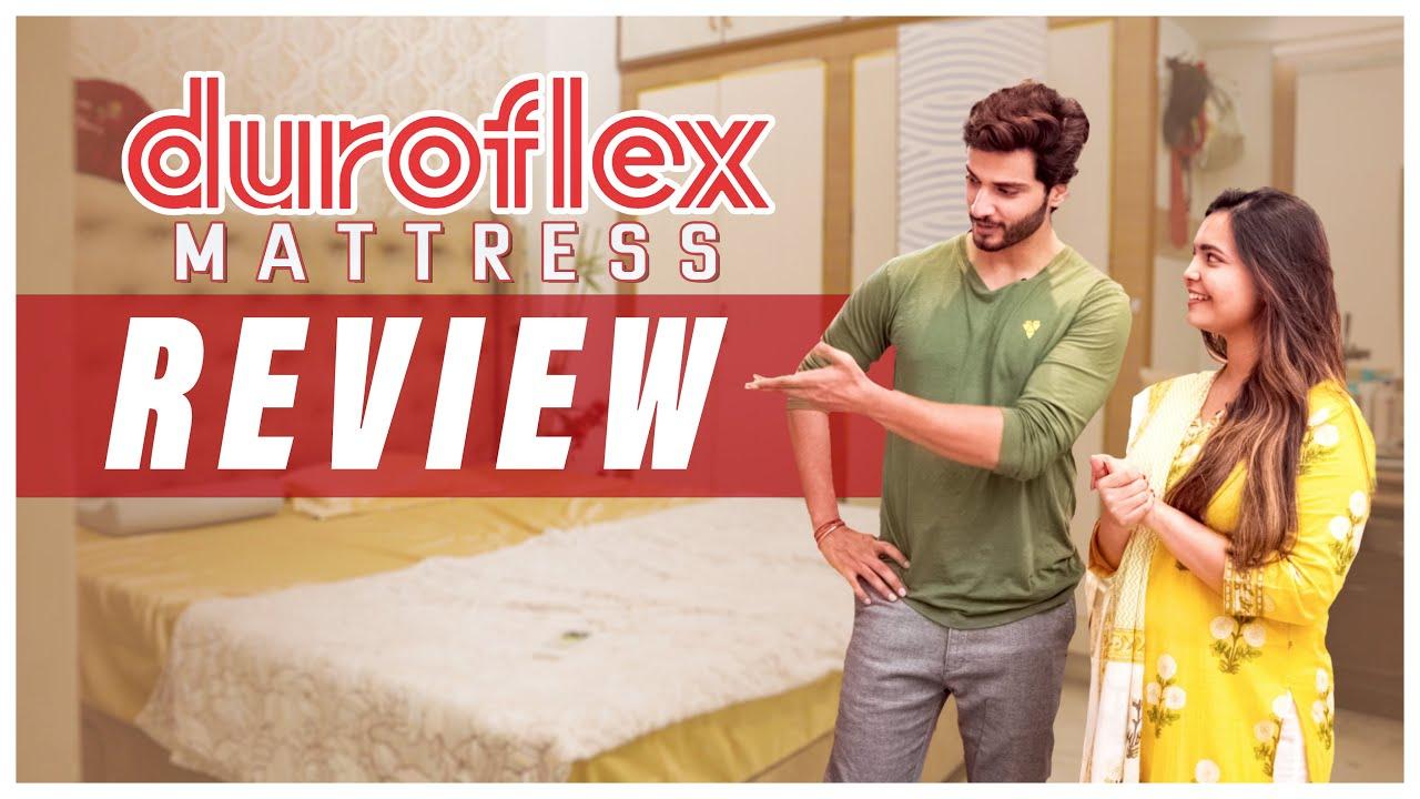 Duroflex Orthopedic Mattress Unboxing and Review in Telugu - LiveIn Duropedic Mattress