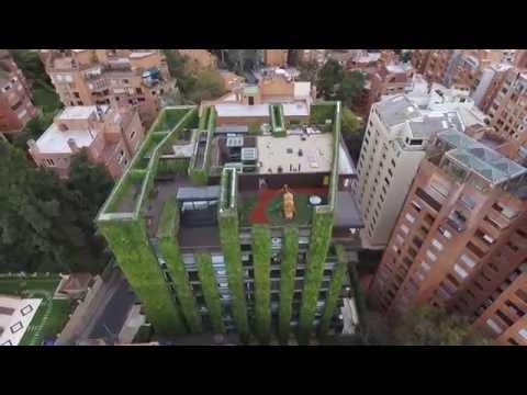 La casa-jardín de Bogotá, uno de los jardines verticales más grandes y bellos del mundo