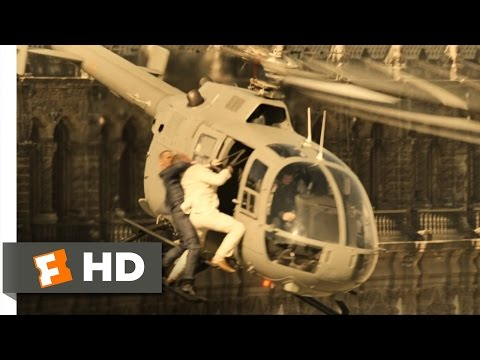Spectre - Helicopter Fight Scene (2/10) | Movieclips