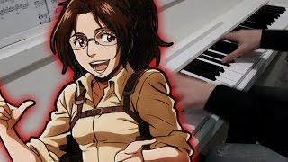 Shingeki no Kyojin OP2 - Jiyuu no Tsubasa ( Piano Cover )