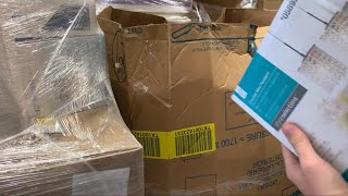 Unboxing 8 Pallets of Lowes Overstock Liquidation