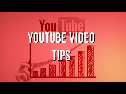 Video Marketing Strategy: YouTube Video Tips