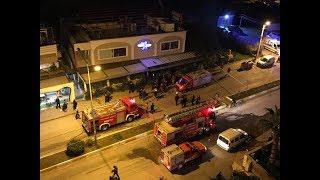 MERSİN HABER  - Yılbaşı Gecesi Mekanda Yangın Çıktı MersinHaber.com