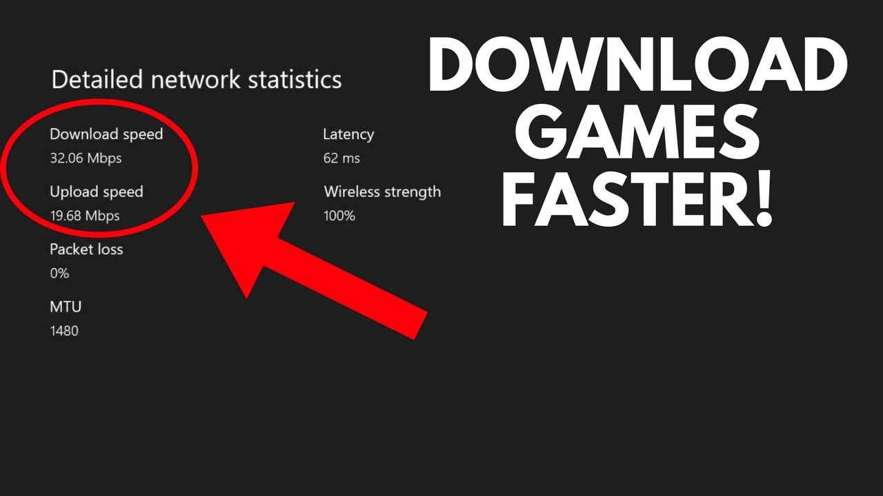 HOW TO DOUBLE YOUR XBOX ONE DOWNLOAD SPEEDS!! (Easy 2018 Tutorial)