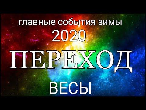 ВЕСЫ. События ЗИМЫ 2020. Таро прогноз.