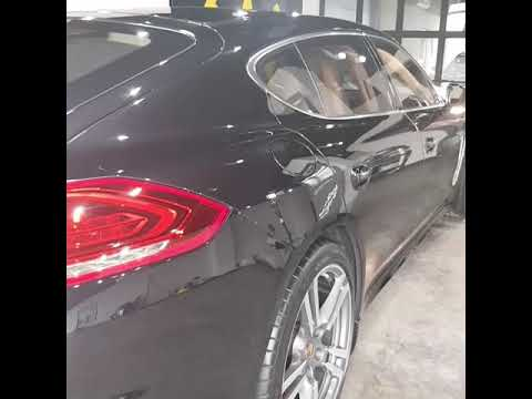 Porsche Panamera Turbo Executive at EMPIRE Studio Kuwait