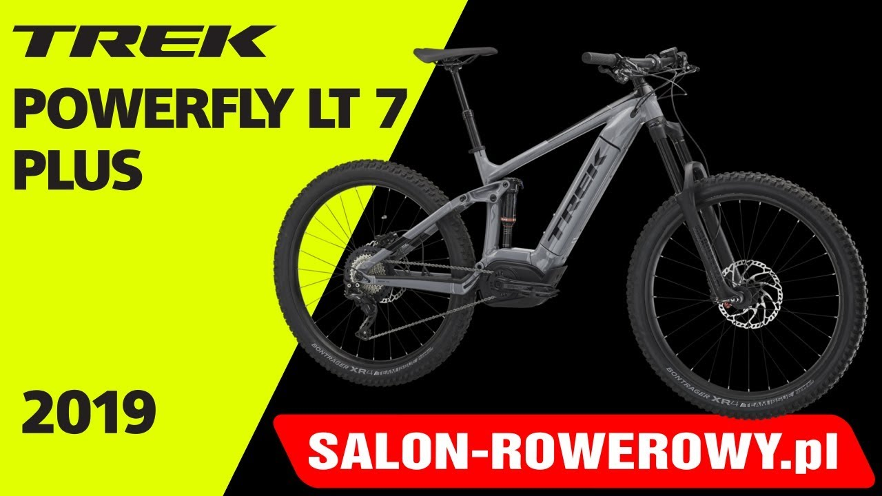 b6bfead2b36 rower Trek Powerfly LT 7 plus 2019 www.salon-rowerowy.pl - YouTube