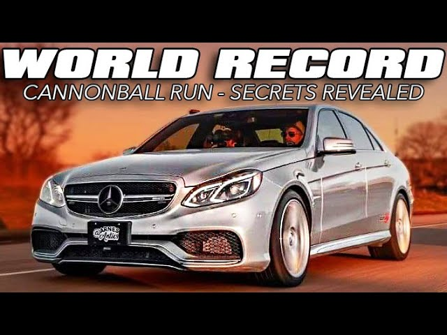 700hp AMG Cannonball Record Holder (The full story)