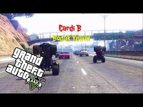 Cardi B Bodak Yellow (Official Music Video) Gta 5