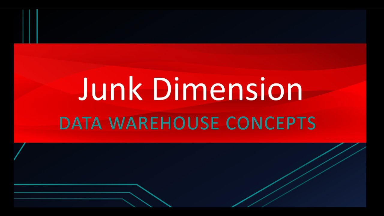 Why do we need Junk Dimension | Data Warehouse Concepts