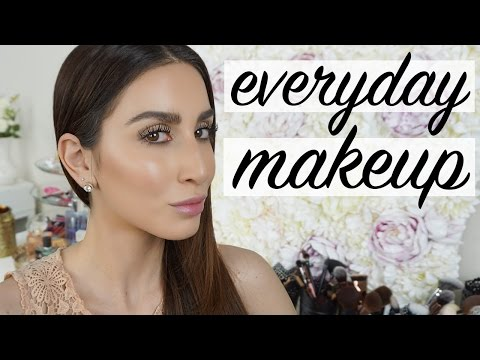 Go To Everyday Makeup Tutorial 2017 - Tips and Tricks for Glowing Skin