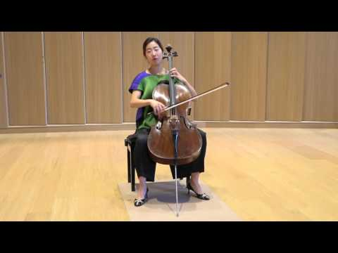 Christine Lee - Piatti Caprice No.3, Non-stop Octaves!!