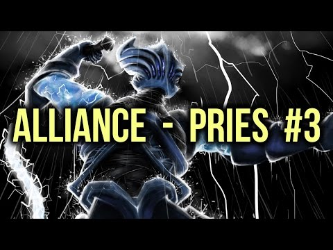 Alliance vs PRIES Dota 2 Highlights Champion League Game 3 (voice bug)