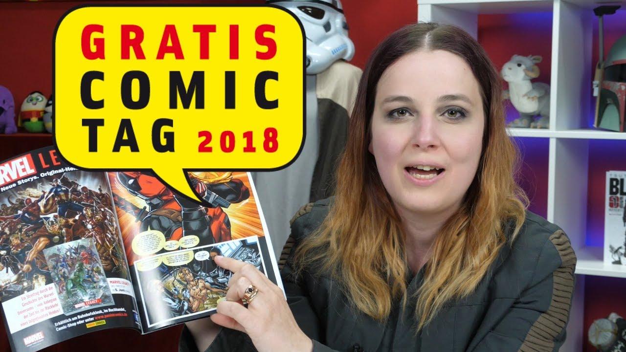 Late Nerd Show 206: Gratis Comic Tag 2018 - alle Comics vorgestellt + 2 DSA-Rezis