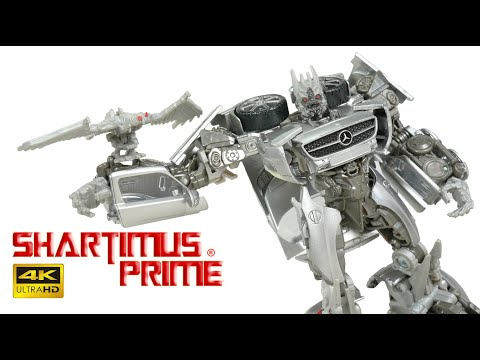 Transformers Studio Series Soundwave Deluxe Class Dark Of The Moon Action Figure 4K Mini Review