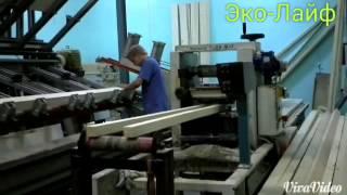 видео Качественный профилированный сухой брус из лиственницы Москва