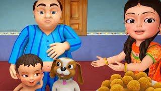 Lalaji Ladoo Bangla Kids Song   Bengali Rhymes for Children   Infobells