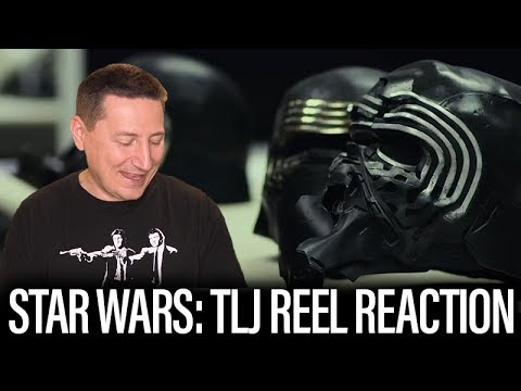 D23 Star Wars: The Last Jedi Reel Reaction And Review