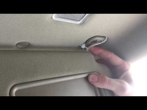 DIY Broken car visor fix for less than $1 and in under 2 minutes
