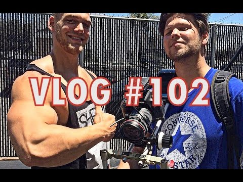 VLOG #102 - Venice Muscle Beach, Charles Glass & Thai Food