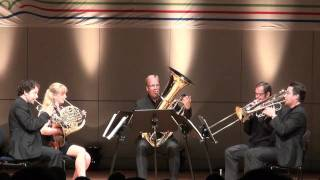 Stockholm Chamber Brass performs Eino Tamberg