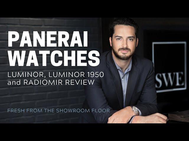 Panerai Watches Review: Luminor, Luminor 1950 and Radiomir | SwissWatchExpo [Watch Review]